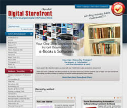 CBProAds digital storefront 4 as part of 34 Reasons why you should use CBProAds to Promote ClickBank Products