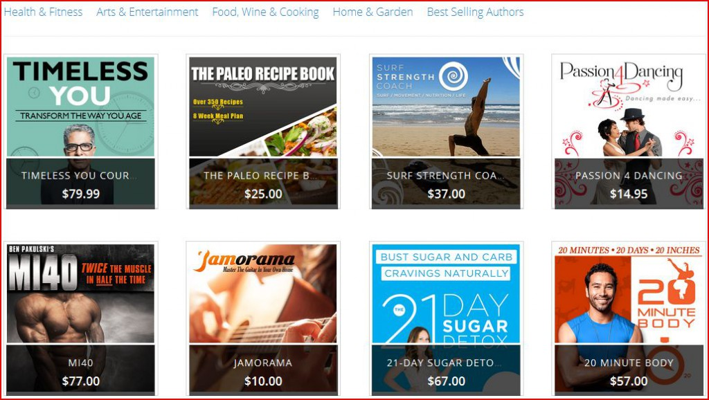 CB featured products asking you to shop at cbproads's clickbank digital storefront 3.0
