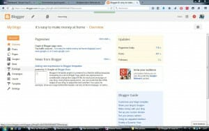 Blogger overview for Why my WordPress Blog Website is better than my blogspot's