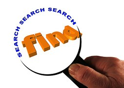 search-276746__180 with a magnifying glass as web traffic