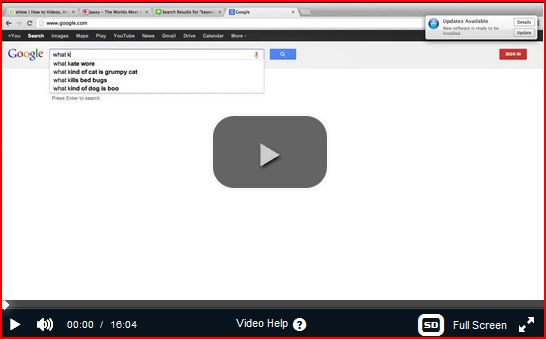 Video keywords to promote Jaaxy