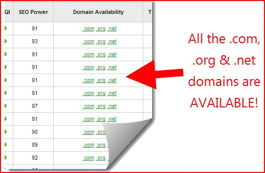 jaaxy domain availability