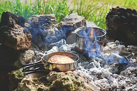 frying pan on fire to signify Whose Perspective Will Bring You Success In Your Online Business – Yours or Your Prospects'?