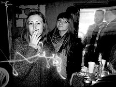 smoking woman with friends to signify Whose Perspective Will Bring You Success In Your Online Business – Yours or Your Prospects'?