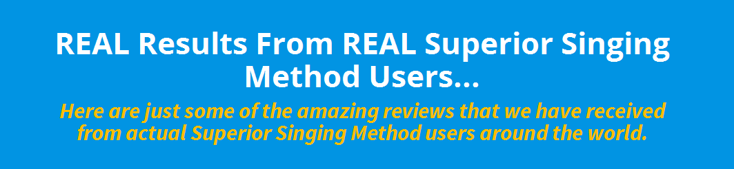 Superior singing method 1