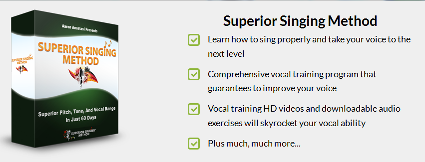 Superior singing method 3