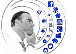 man-404376__180 wondering with social icons before himdescribing Get Trendy Wealthy Affiliate Video Training