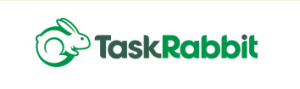Taskrabbit logo showing a rabbit before the letters Task in black and rabbit in green