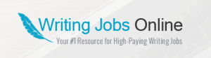 Logo of writing jobs online