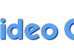 Logo of EZ video creator showing ez in yellow characters and video creator in blue