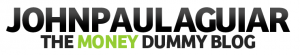 "John Paul Aguiar's ""The Money Dummy Blog"" logo"