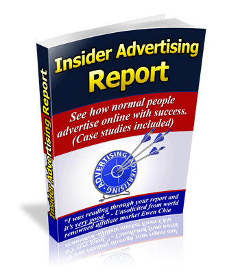 "Cover picture of the ebook ""Insider Advertising report"" free for members"