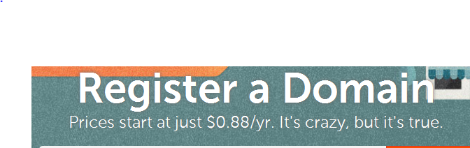 NameCheap Register a domain name for just $0.88 a year