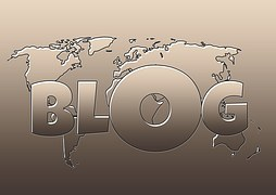 Map of the world with blog written before it as affiliate matters