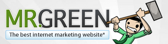 The Mr Green blog logo