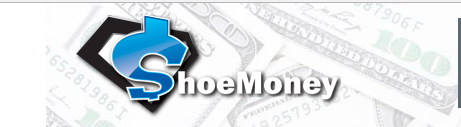 The shoe money blog logo