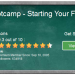 A green board showing details of the online entrepreneur certification course, level 5