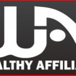 The wealthy affiliate logo written in white characters over a dark background.