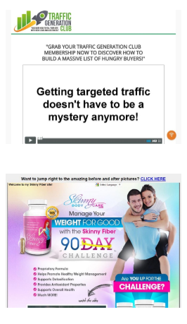 Image shwoing some ads on the NET4 site