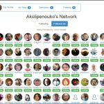 Pictures of my network of people following me at Wealthy Affiliate