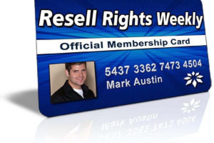 Resell Rights Weekly (RRW), A PLR and RR Membership Site