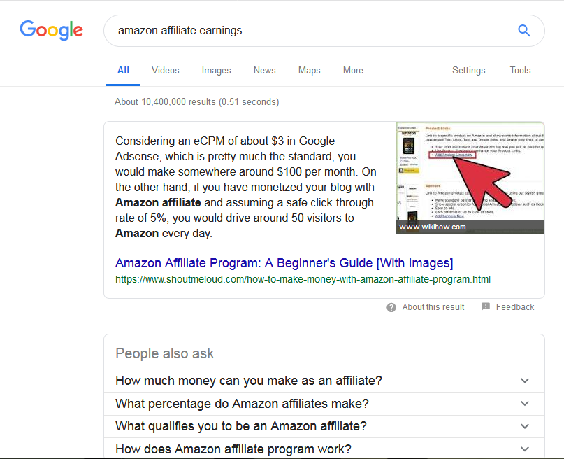 Rich results as part of 37 highly effective SEO tips for bloggers