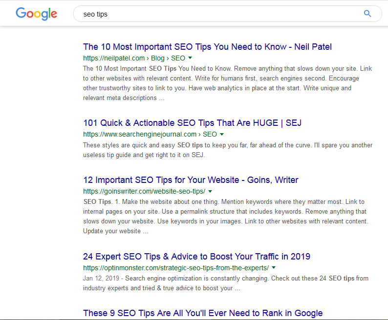 SEO tips for 37 highly effective SEO tips for bloggers