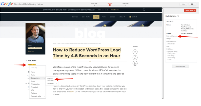 SERP page as for 37 highly effective SEO tips for bloggers