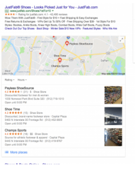 Search with local maps as part of 37 highly effective SEO tips for bloggers