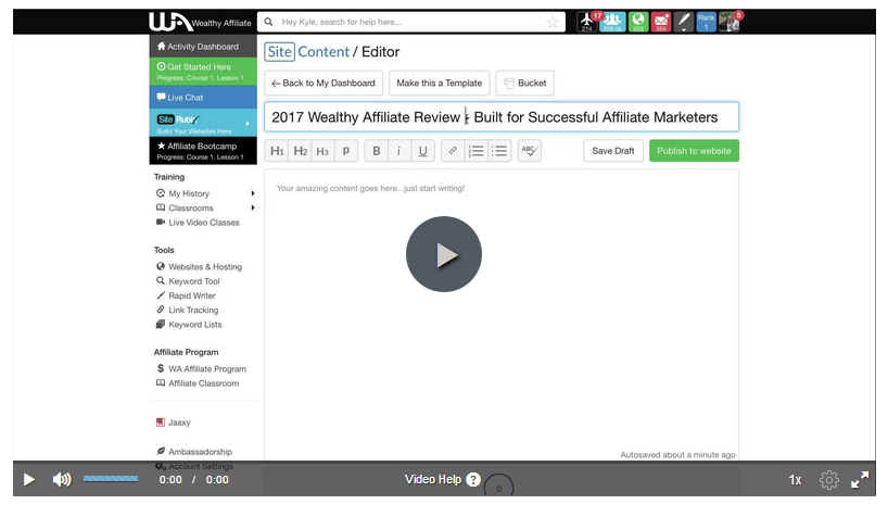 Video image link for Creating Thoughtful, Insightful Reviews