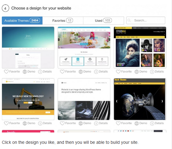 Wealthy affiliate choose a design for your website for How to make a website from scratch free at Wealthy Affiliate