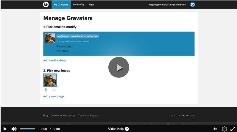 How to Create a Gravatar Account video image