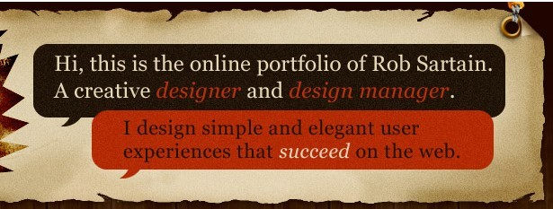 Rob Sartain's Prime Cut Design's great value proposition in the header of their site.
