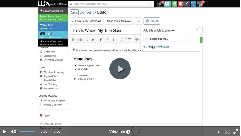 SiteContent - The Complete Walkthrough video image