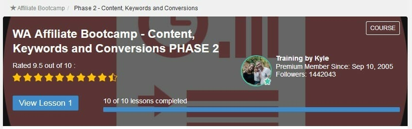 image Affiliate bootcamp Phase 2 content keywords and conversions meaning Can You Make Money with Wealthy Affiliate Without a Premium Membership?