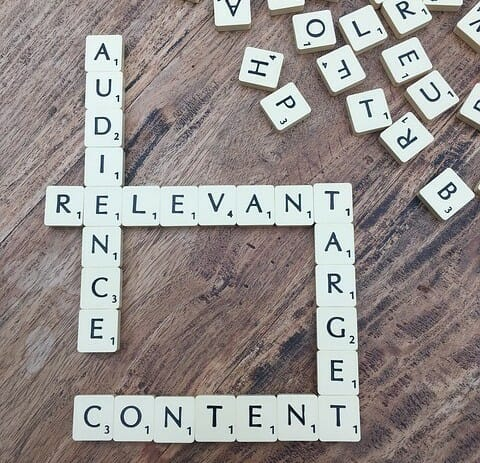 Image for audience relevant and target content as How to Create Content with Intent That Profits You