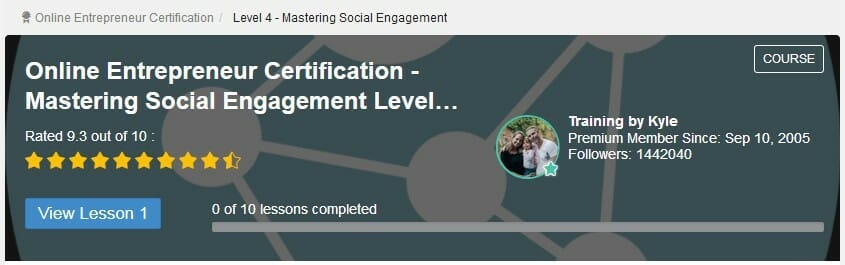 image online entrepreneur certification level 4 Mastering social engagement to mean Can You Make Money with Wealthy Affiliate Without a Premium Membership?
