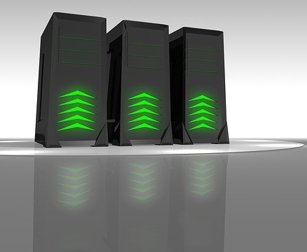 3-web-hosting-equipment-with-green-lights-to-signify-the-best-web-hosting-for-your-wordpress-website