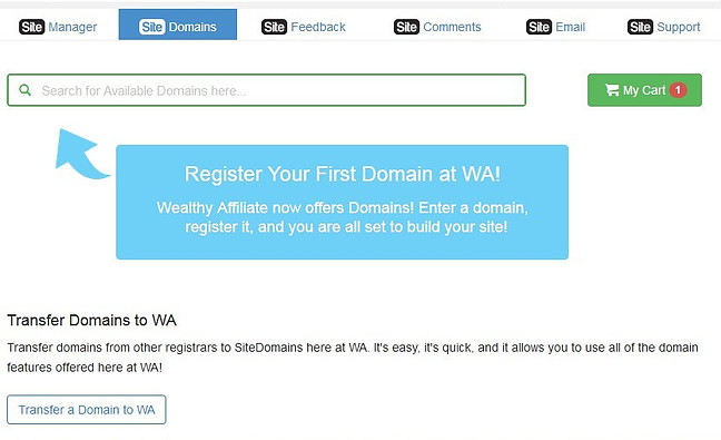 find a domain