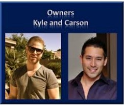 Passport photos of Kyle and Carson, Wealthy Affiliate founders to signify Who Are the Owners of Wealthy Affiliate?