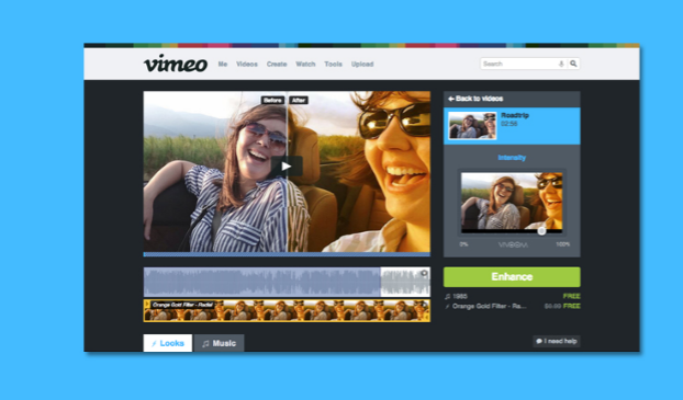 Vimeo video to signify alternative video sharing site to YouTube