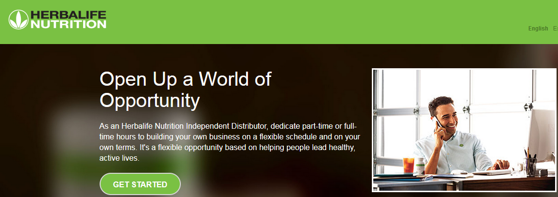 Herbalife nutrition open up a world of opportunity