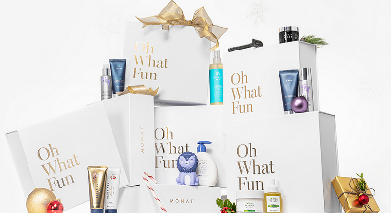 Monat products holiday collection 2019