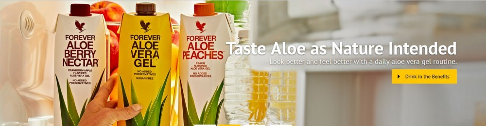 Forever tastye aloe as nature intended for Forever Living Business Opportunity
