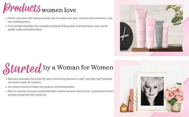 Mary Kay products women love started business a woman for woman