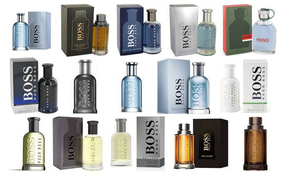 Boss Cologne lineup