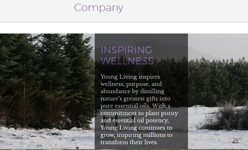 The Young Living Company inspiring wellness for Young Living Review