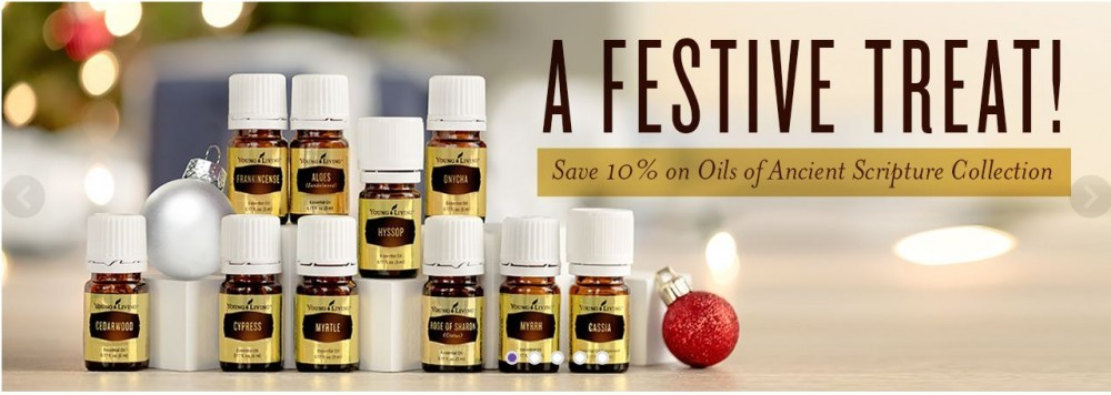 Young Living Essential Oil products