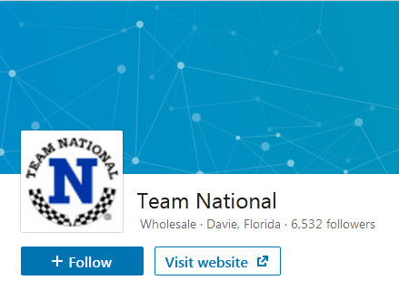 Team National LinkedIn page to signify Team National review