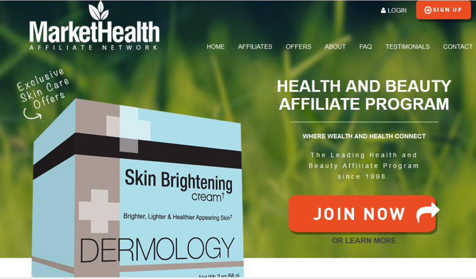 Market health product images